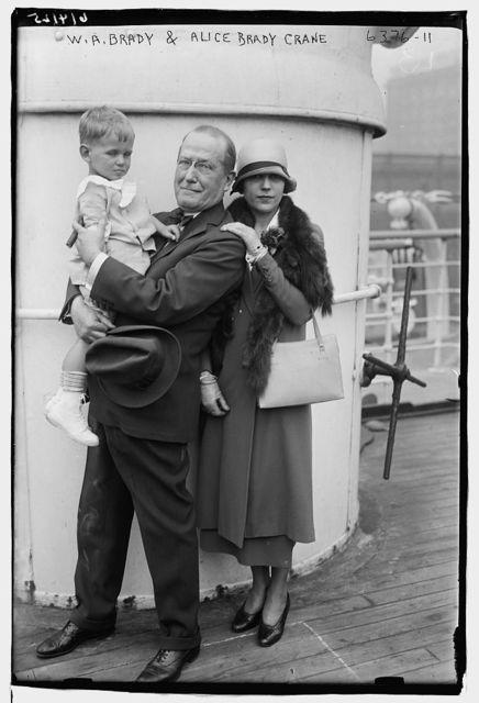 W.A. Brady & Alice Brady Crane