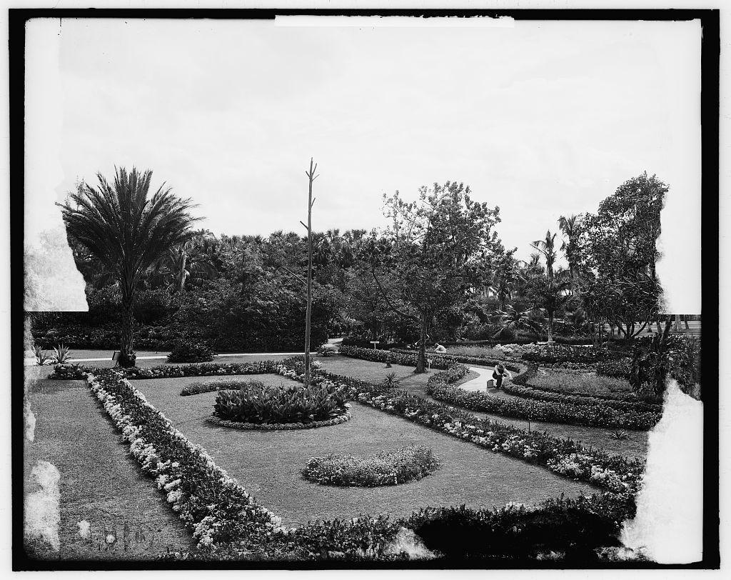 Walk And Gardens The Royal Poinciana Hotel Palm Beach Fla