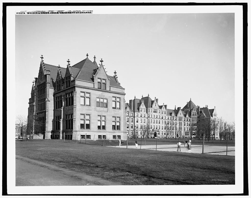 Walker & Green Halls, University of Chicago