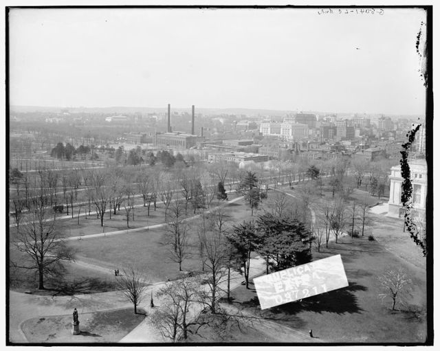 [Washington from Smithsonian Institute (Institution) castle, Washington, D.C.]