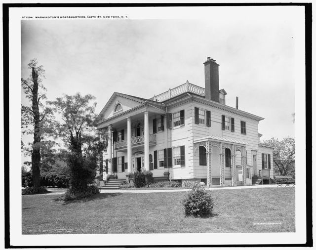 Washington's headquarters [i.e. Morris-Jumel mansion], 160th St., New York, N.Y.