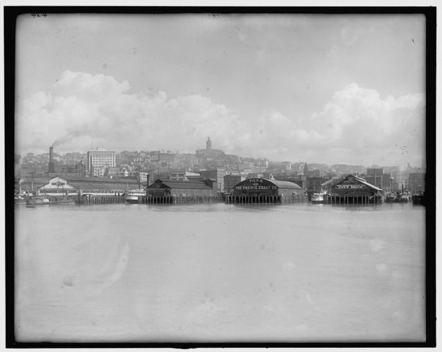 [Water front, Seattle, Wash.]