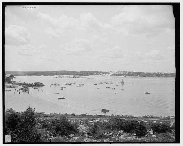[Water sports at Annisquam, Gloucester, Mass.]