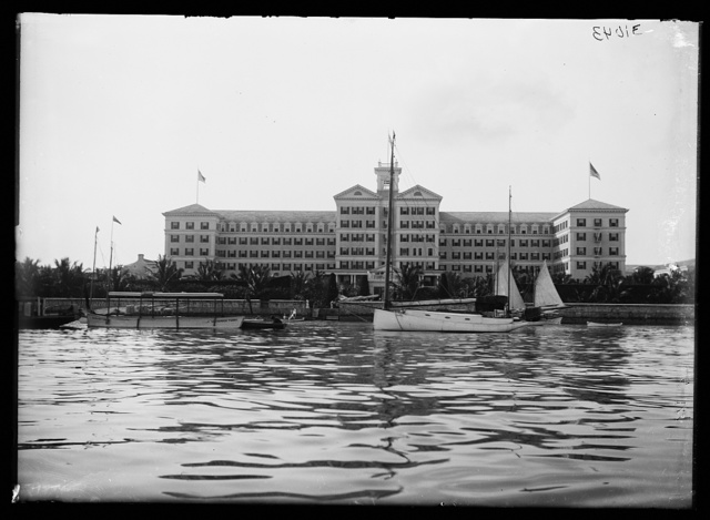[Waterfront hotel, possibly South Carolina]