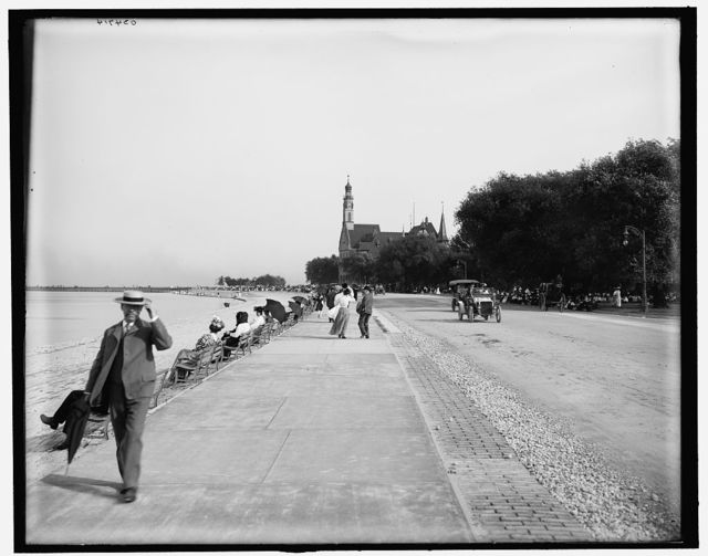 [Waterfront near German Building, Jackson Park, Chicago, Ill.]