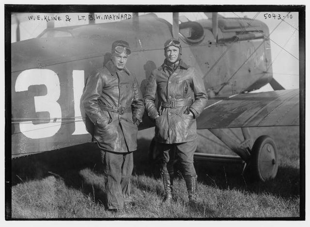 W.E. Kline & Lt. B.W. Maynard