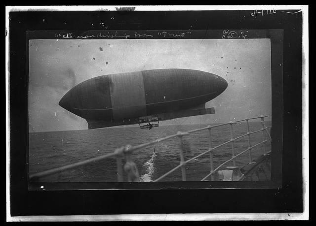 """Wellman airship from """"Trent"""""""
