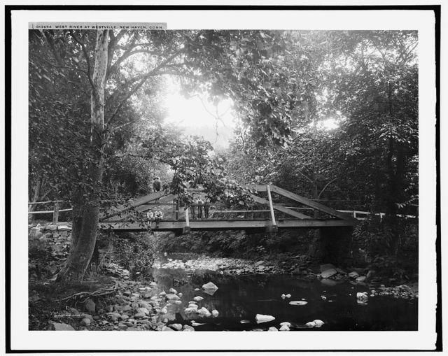 West River at Westville, New Haven, Conn.