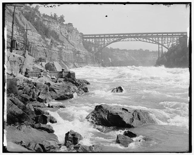 [Whirlpool Rapids, Niagara Falls, N.Y.]