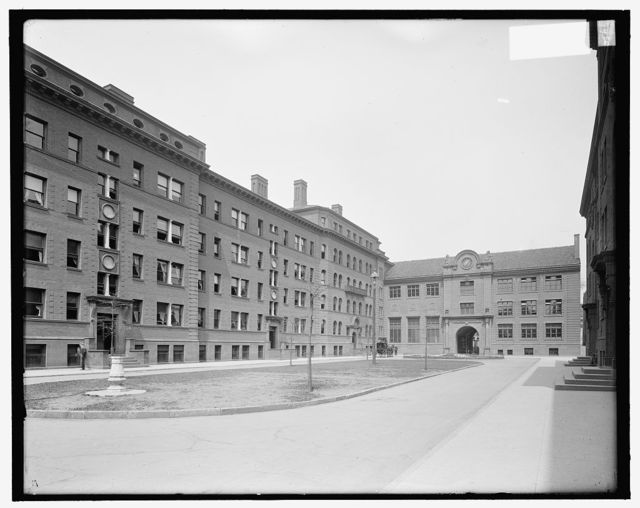 [White, Berkeley, Lampson Halls, Yale University, New Haven, Conn.]