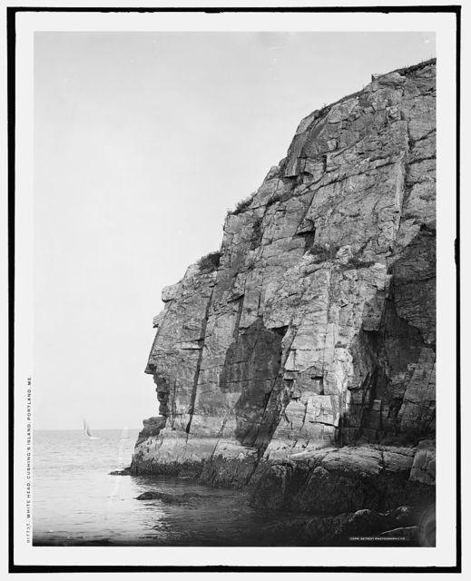 White Head, Cushing's Island, Portland, Me.