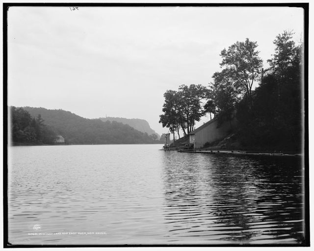 Whitney Lake and East Rock [Park], New Haven