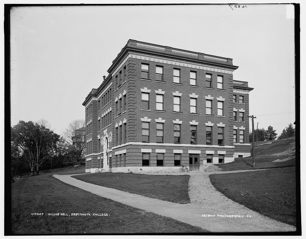 Wilder Hall, Dartmouth College