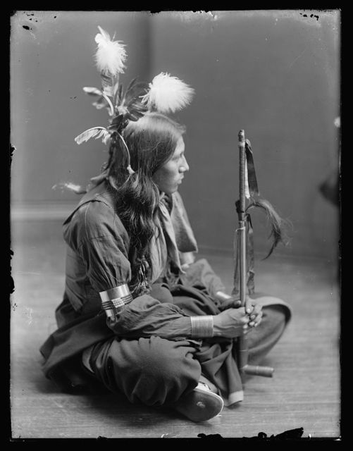[William Frog, Sioux American Indian]
