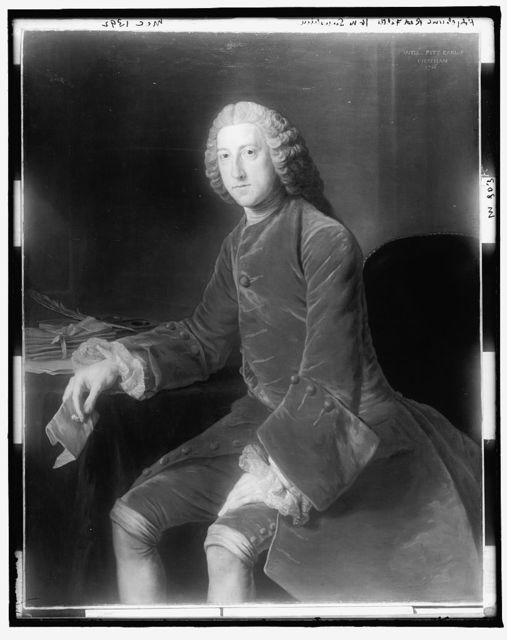 Will[iam] Pitt, Earl of Chatham, 1756