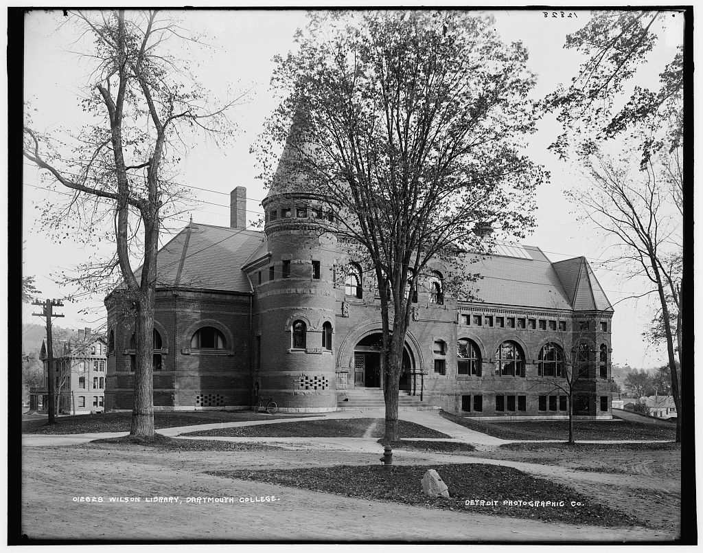 Wilson Library, Dartmouth College