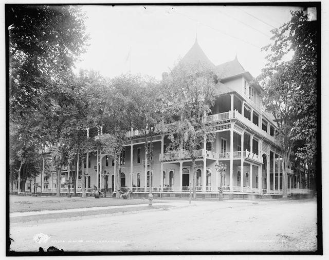 Windsor Hotel, Saratoga, N.Y.