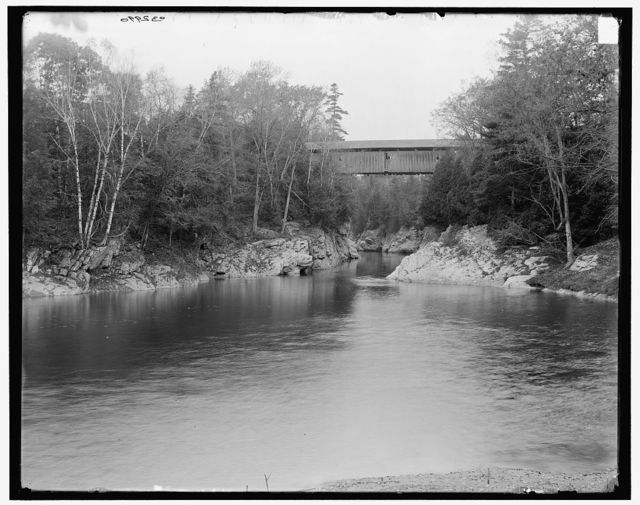 [Winooski Gorge High Bridge, Burlington, Vt.]