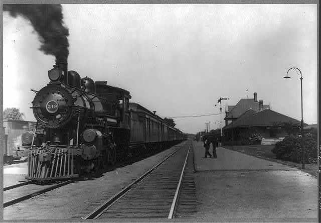 Wisconsin. Watertown C. M. & St. Paul Depot