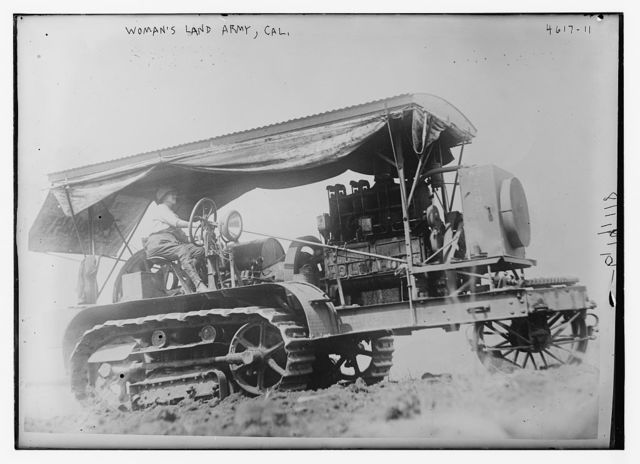 Woman's Land Army -- Cal.