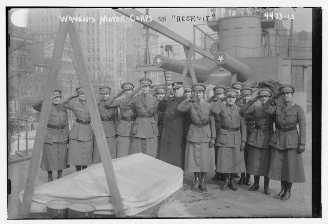 Women's Motor Corps on RECRUIT