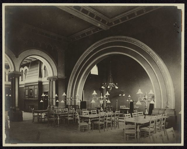 [Women's reading room, Carnegie Library and Music Hall, Alleghany City, Pennsylvania]