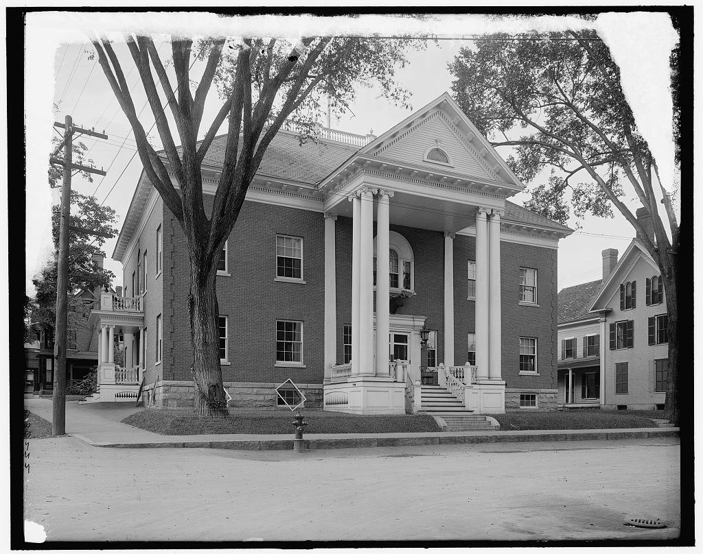 [Wonolancet Club, Concord, N.H.]