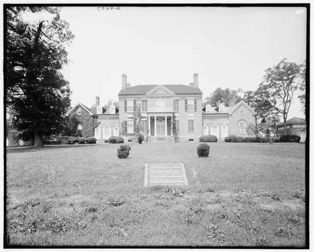 [Woodlawn, home of Nelly Custis Lewis, Mount Vernon, Va.]