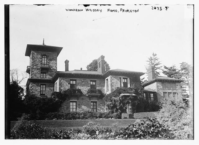 Woodrow Wilson's home, Princeton