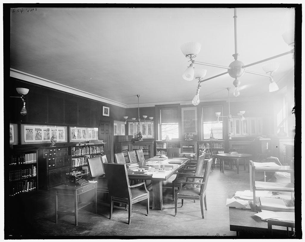 [Worcester Art Museum library, Worcester, Mass.]