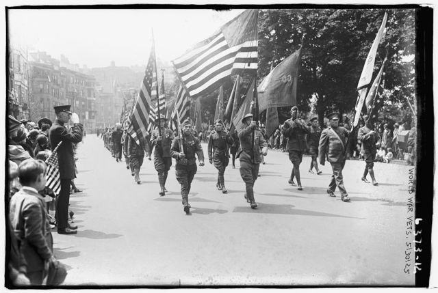World War I Vet. Parade