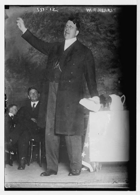 W.R. Hearst, speaking for the Independence Party