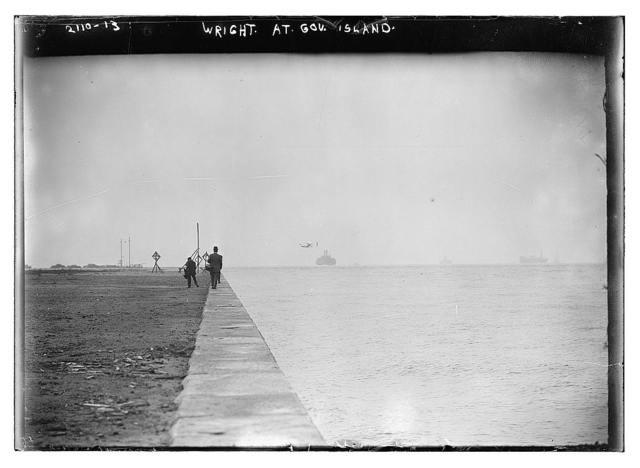 Wright at Gov. Island
