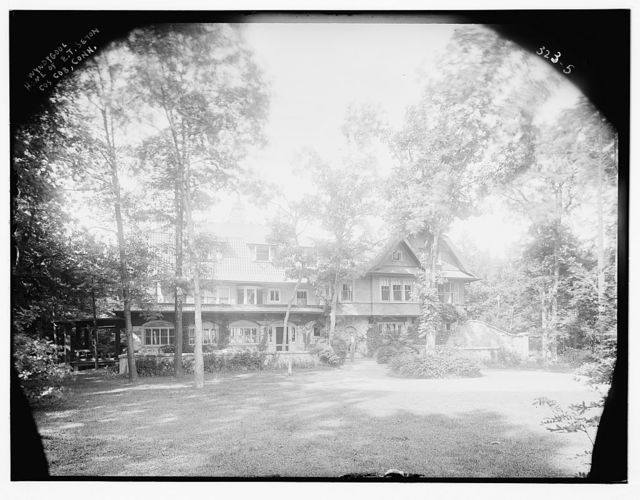 Wyndygoul: homes of E.T. Seton, Cos Cob, Conn.