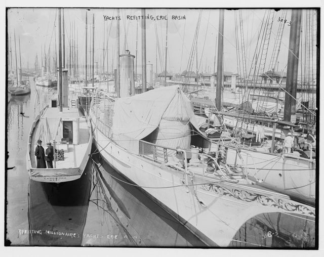 Yachts Refitting, Erie Basin