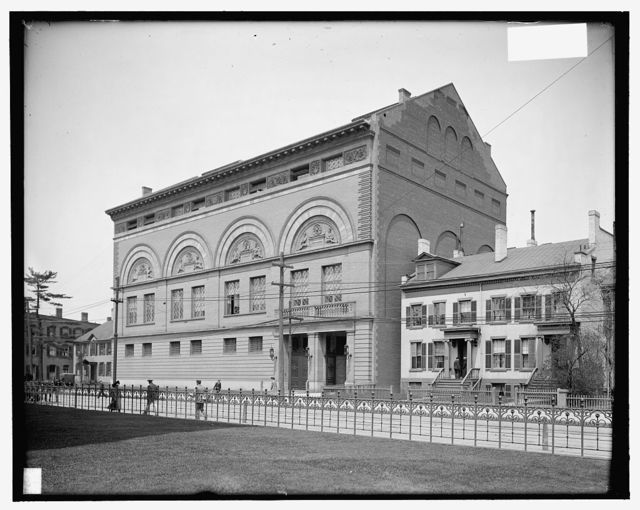 [Yale University gymnasium, New Haven, Conn.]