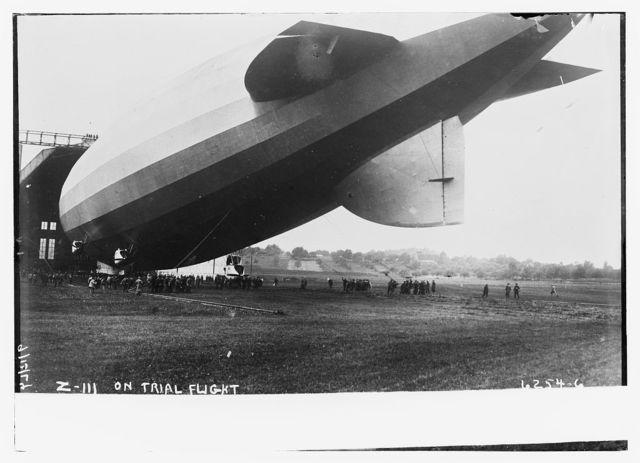 Z - III on trial flight