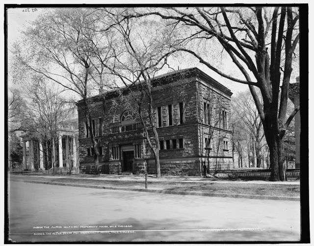 Alpha Delta Phi fraternity house, Yale College