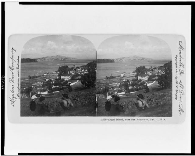 Angel Island, near San Francisco, Cal., U.S.A.