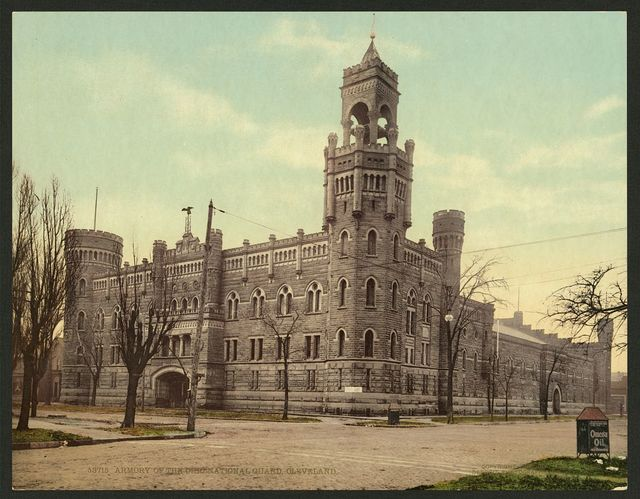 Armory of the Ohio National Guard, Cleveland