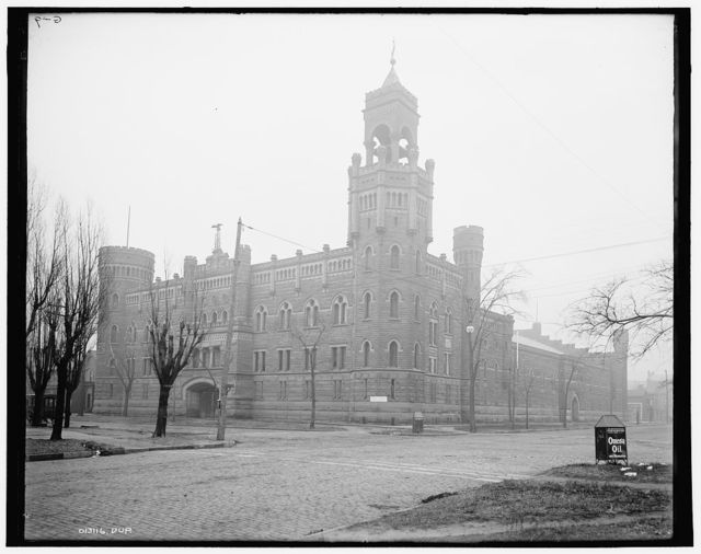 Armory of the Ohio National Guard, Cleveland, O[hio]