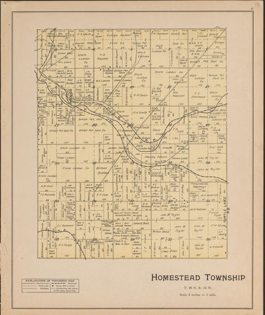 Atlas of Benzie County, Michigan : with maps of Michigan, United States and the world, Alaska, Cuba, Porto Rico, Hawaii and the Philippines : also a complete mailing list of all resident land owners of the county /