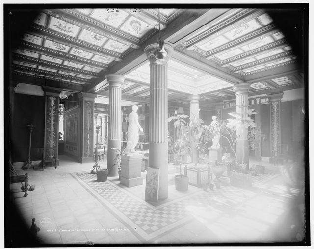 Atrium in the House of Pansa, Saratoga, N.Y.