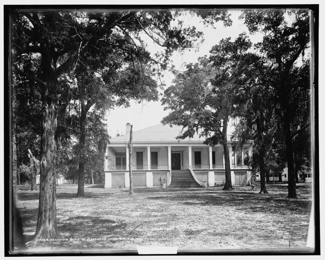 Beauvoir, home of Jefferson Davis near Biloxi, Miss.