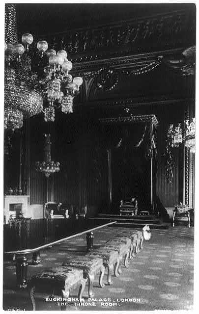 Buckingham Palace, London - The Throne Room