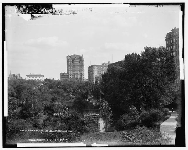 Central Park at 59th St., New York