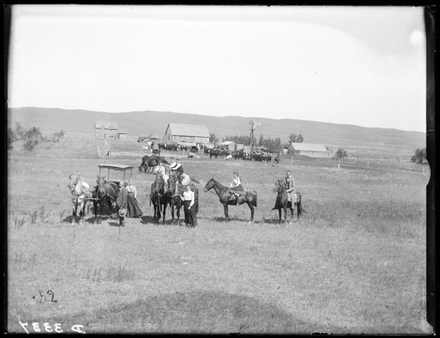 Charles Lenebrink Ranch, Chesterfield, Cherry County, Nebraska.