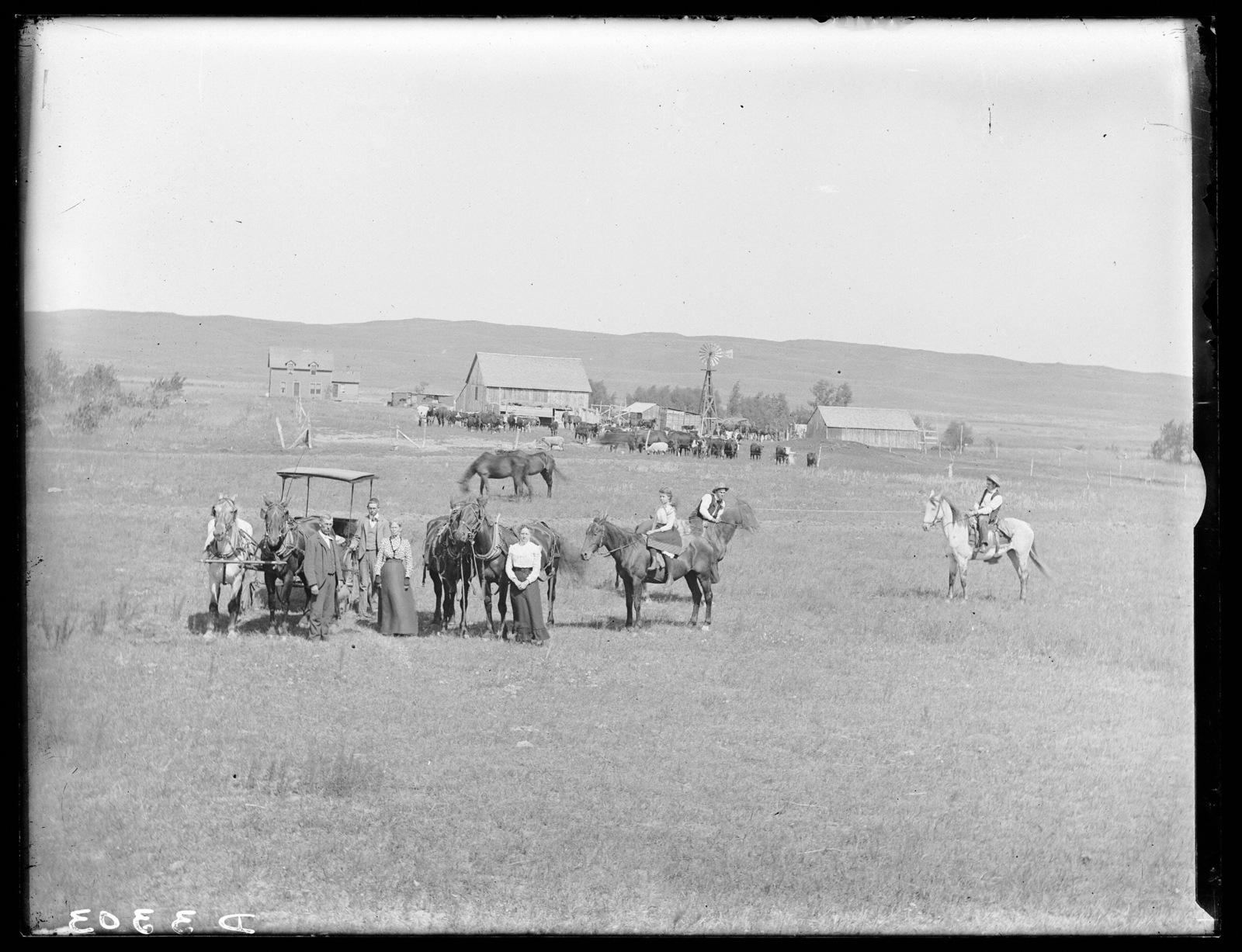 Charles Lenebrink Ranch in Cherry County, Nebraska