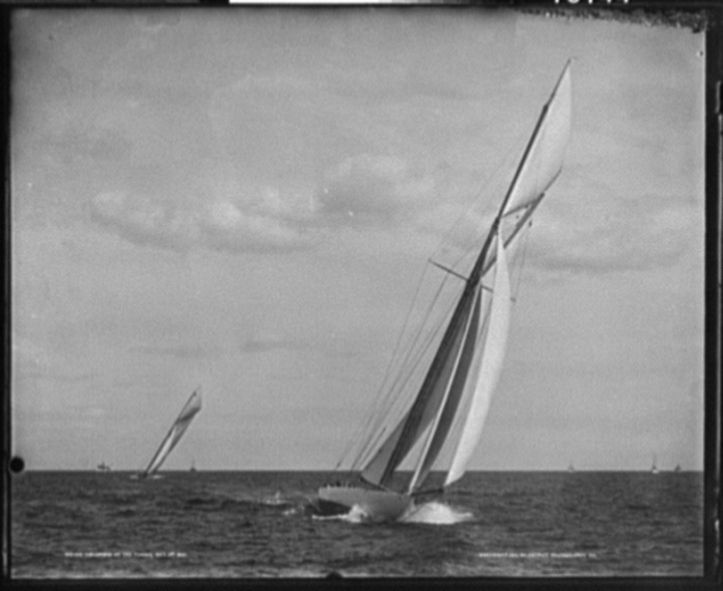 Columbia at the finish, Oct. 3rd, 1901