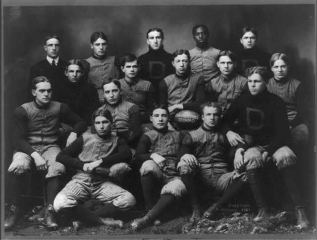 [Dartmouth football team, 1901]